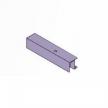 Profilis viršutinis stumdomų durų sistemai 2200