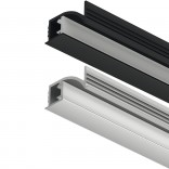 Profilis LED juostai įfrezuojamas kampinis
