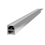 Profilis LED juostai įfrezuojamas dvipusis