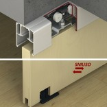 SLIDO Classic P medinėms durim su švelniu uždarymu