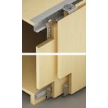 SLIDO Classic VF S 3 medinėms durims