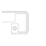 Profilis EGGER stalviršio sujungimui