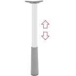 Koja stalui apvali Ø50 mm reguliuojamo aukščio