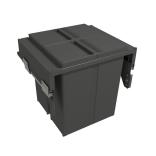 Šiukšliadėžė ištraukiama 580 PLUS LINE 2-jų dalių
