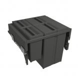 Šiukšliadėžė ištraukiama 580 PLUS LINE 4-jų dalių