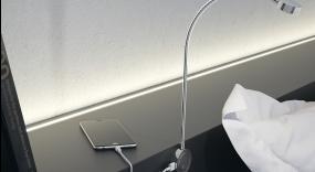 Šviestuvas su USB jungtimi LED 2034
