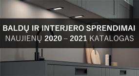 Katalogas. 2020-2021 m. naujienos