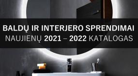 Katalogas. 2021-2022 m. naujienos